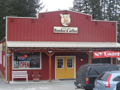 coffee & books in Spirit Lake, ID
