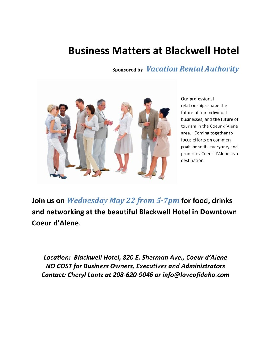Business Matters at Blackwell Hotel