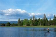 flyfishing in cda, fishing in cda, flyfishing vacations, cda vacations, lake vacations