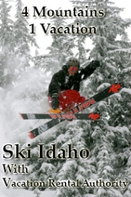 idaho ski vacation, idaho ski condo, idaho ski lodge
