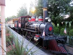 Silverwood Theme Park train