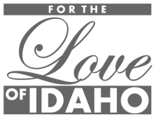 for the love of idaho logo
